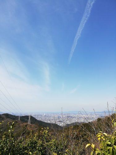 二川TV中継所付近からの眺望