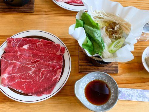 白駒荘での夕食