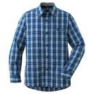 WIC.ライト シングルポケット ロングスリーブシャツ Men's 1104945 IKBL インクブルー M