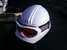 工事用ヘルメット+ゴグル
