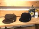 帽子 KAT-29 ウールワークキャップ #46 ブラウン