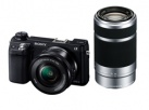 NEX-6Y ダブルズームレンズキット キットレンズ:E PZ 16-50mm F3.5-5.6 OSS + E 55-210mm F4.5-6.3 OSS
