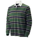 WIC. ラガーシャツ ロングスリーブ Men's