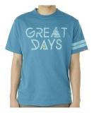 トレッキング Tシャツ グレートデイズ ショートスリーブ T VP171106F01 UWBL M