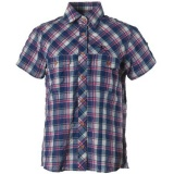 TSチェックシャツS/S レディース 8212212