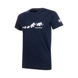 QD Logo Print T-Shirt AF Men marine PRT3 M 1017-02010