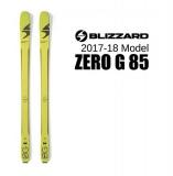 BLIZZARD  ZERO G 85 (164cm:116-85-99.5mm:R 18m) 1050g